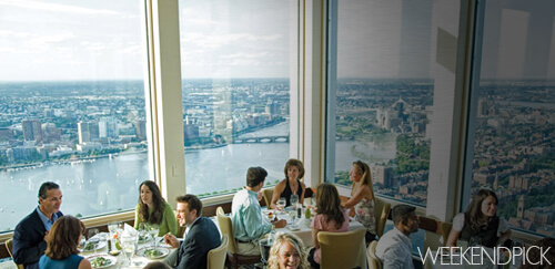 Top of the Hub Brunch Boston - WeekendPick