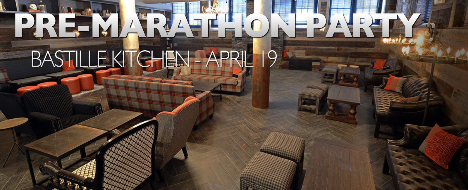 PRE-MARATHON WARM UP PARTY - APRIL 19 | WeekendPick