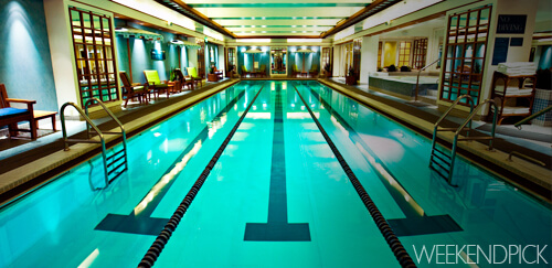 Boston Harbor Hotel Pool - WeekendPick