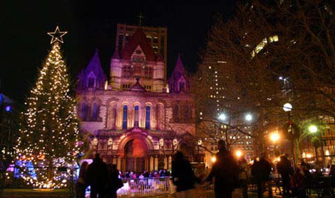 Copley Tree Lights - WeekendPick