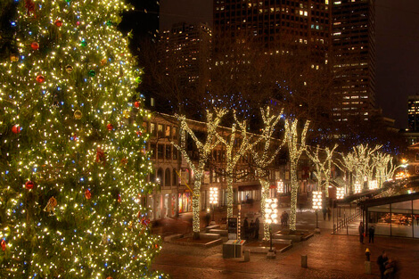 Faneuil Hall Lights - WeekendPick